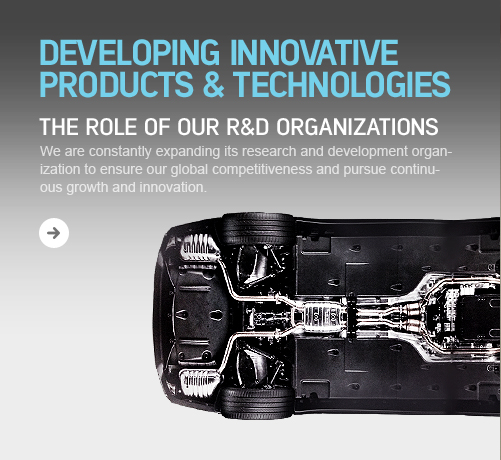 Developing Innovative Products & Technologies